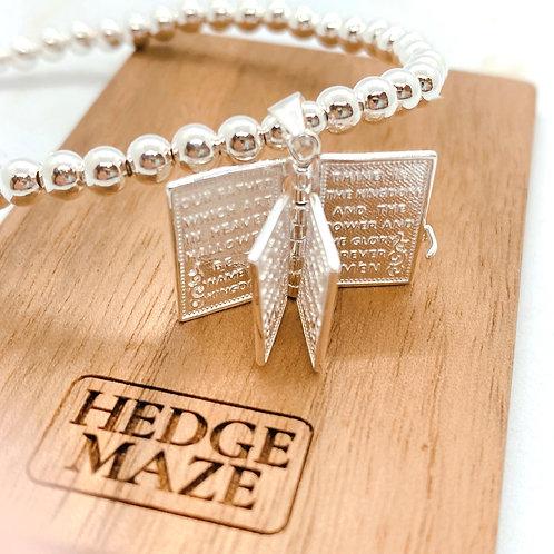 Holy Bible 925 Rhombus Bracelet