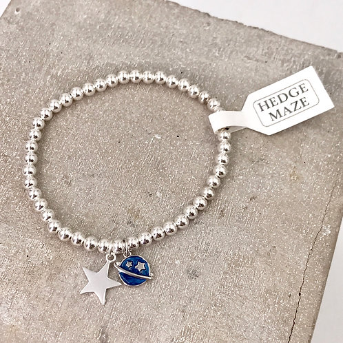 The Blue Planet Silver 925 Bracelet