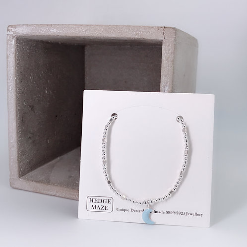 Blue Moon Silver 925 Bracelet