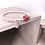 Thumbnail: Wooden Cube Initial Silver 925 Bracelet