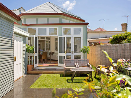 Our new video of an English garden room addition in Marrickville.
