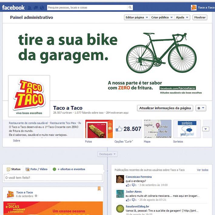 - Campanha Tire a sua bike da garagem