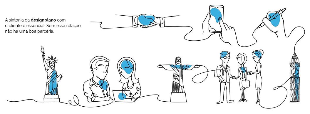 Institucional - Direção de Criação, Redação e Ilustração