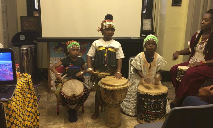 Gahu drumming from Ghana