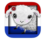 Little Lamb in Amsterdam animated and bilingual picture book