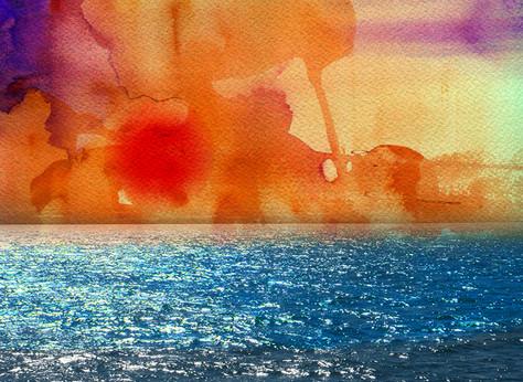 sunset beachjpg