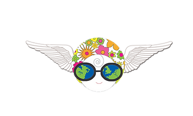 The Happy Dandelion Tiny Tourist Badge