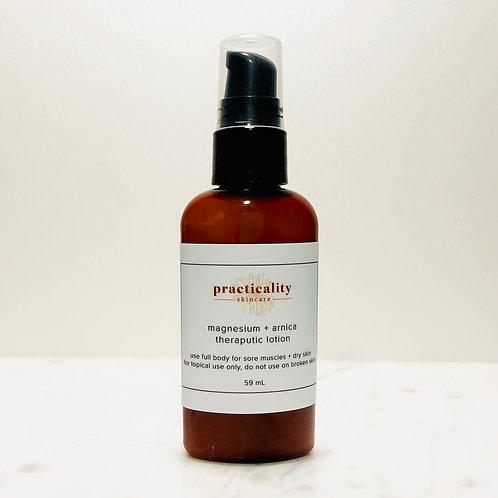 magnesium + arnica theraputic lotion 2oz
