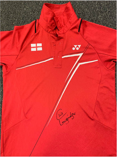 Signed Shirt From Chris Langridge