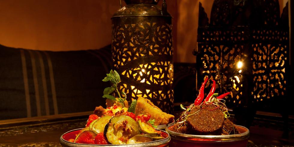 Grosses Maroc-Weihnachtsbuffet
