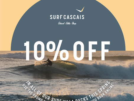 10% Off All Surf Villa Packages this Spring