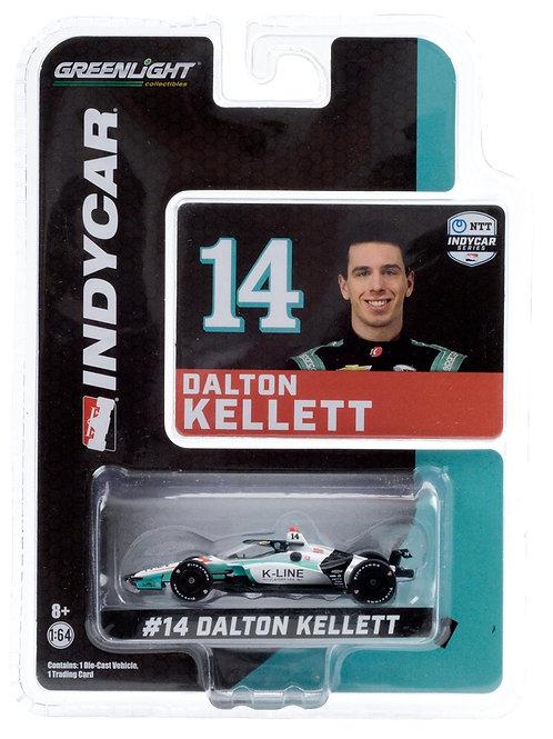 1:64th Dalton Kellett, #14 K-Line, AJ Foyt Racing Diecast - SIGNED
