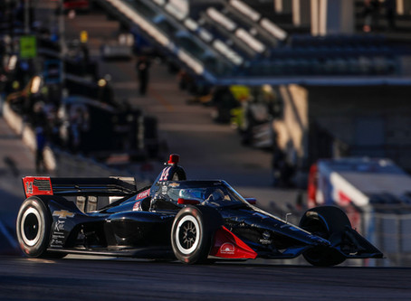 AJ Foyt Racing - Open Test Report: Circuit of the Americas