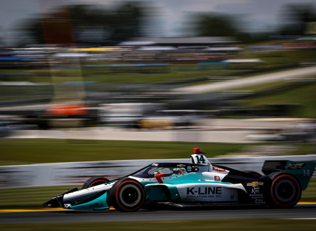 AJ Foyt Racing - Race Report: REV Group Grand Prix - Race 2