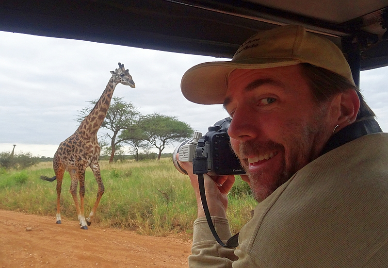 Derek and Giraffe