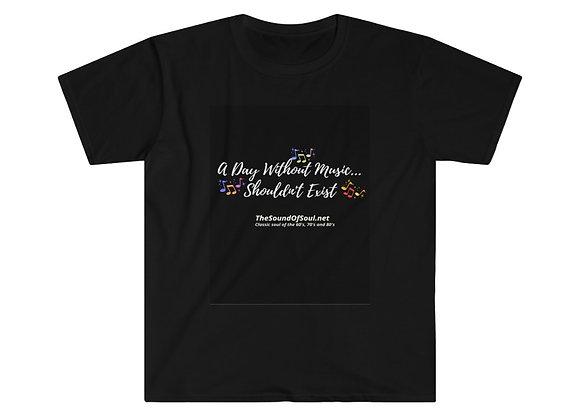 Black Unisex Softstyle T-Shirt