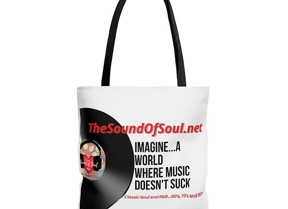 The Sound of Soul Tote Bag