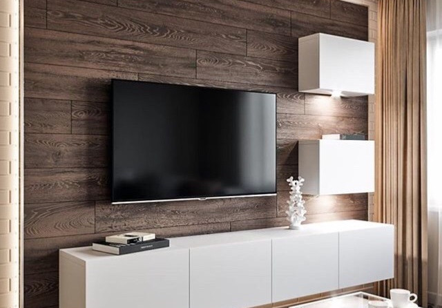 Projeto de decoracao e moveis para sala de estar
