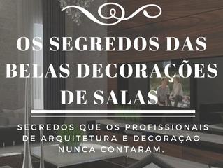 Livro Digital: Os Segredos das Belas Decorações de Salas - J Tagler Design de Interiores