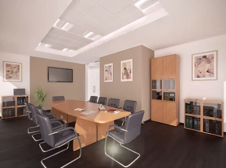 Projeto de decoração de interiores escritorio empresa
