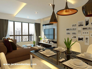 Sala de jantar decorada - Decoração sala de jantar gastando pouco - J Tagler Design de Interiores SP