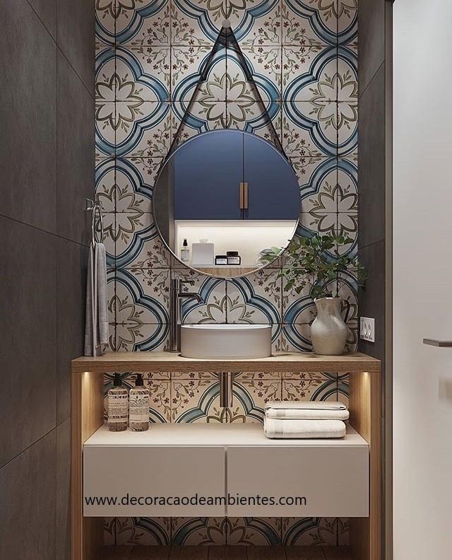 projeto online decoração, consultoria online decoração, projeto 3d decoração banheiro, designer de interiores Rio de janeiro, RJ