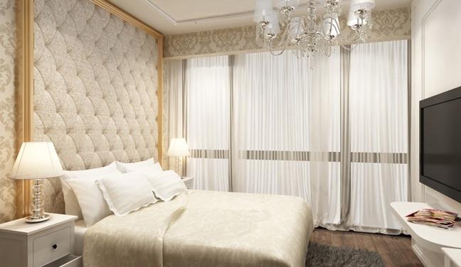 Projeto de decoração neo clássica para quarto de casal - Aclimaão - São Paulo SP