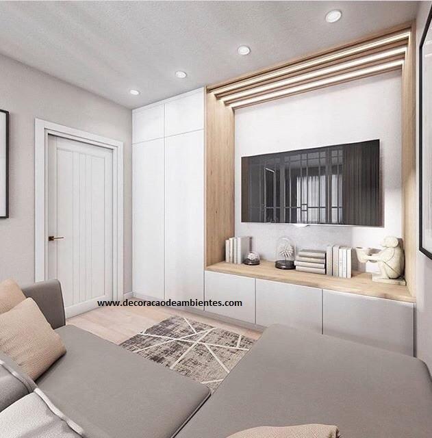 Decorar apartamento conjugado flat kitnet