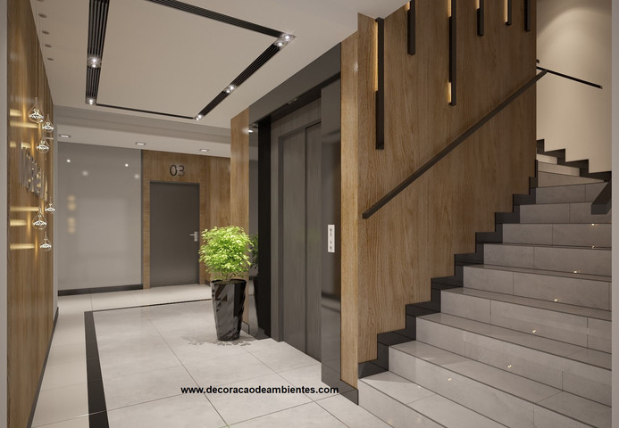 projeto decoração predio residencial.