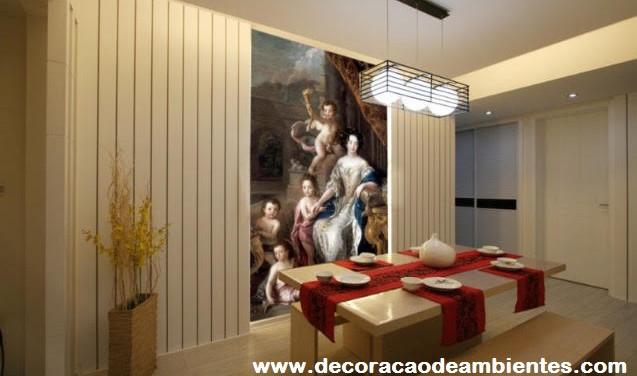 Decoração com elementos clássicos para sala pequena - Itaim Bibi - São Paulo SP