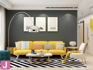 Dicas de como decorar de forma linda e aconchegante uma sala pequena.