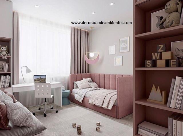 Projeto de deecoração para quarto de menina