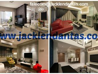 Projeto de decoração completa para sala pequena de apartamento - J Tagler Design de Interiores SP