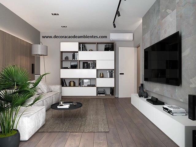 Projeto decoracao de sala de estar