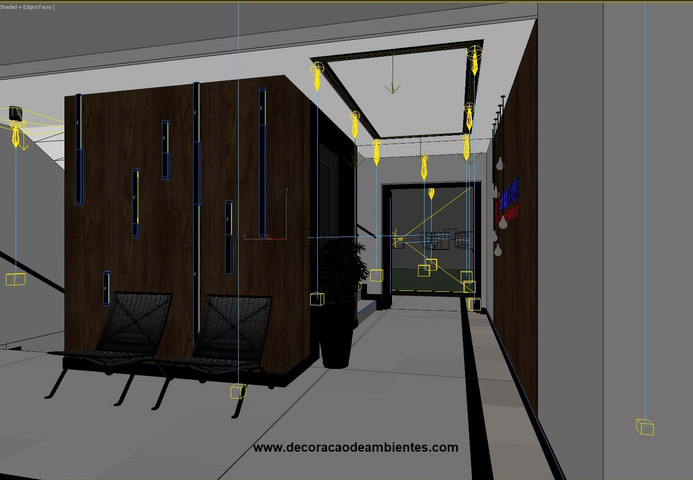 Projeto design decoracao predio residencial