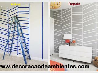 Transforme o seu ambiente sem estresse e sem gastar muito - J Tagler Design de Interiores RJ .