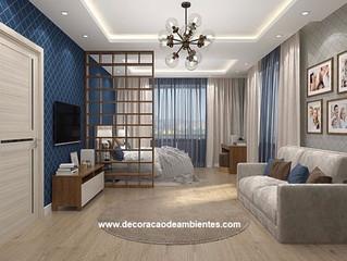 Como decorar e criar conforto em um apartamento para aluguel por temporada.