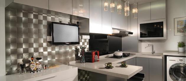 O que você precisa saber para planejar uma cozinha pequena.