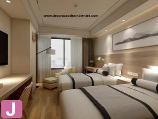 Regras Importantes para Decorar Quartos de Hotéis.