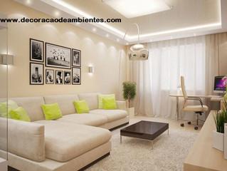 Projeto de decoração para sala de apartamento pequeno - J Tagler Design de Interiores RJ.