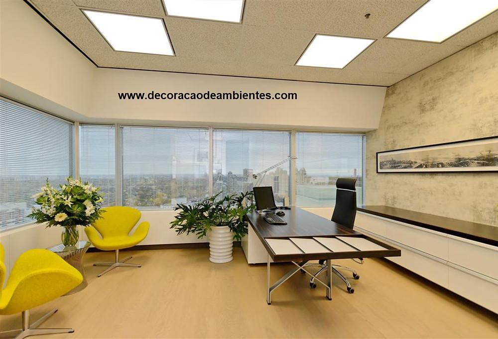 projeto online decoração escritorio, decorar escritorio pequeno, escritorio pequeno decorado, empresa decoração, decorar empresa, decoração comercial