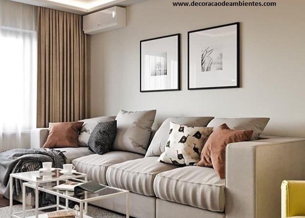 Projeto de decoracao de interiores - sala de estar