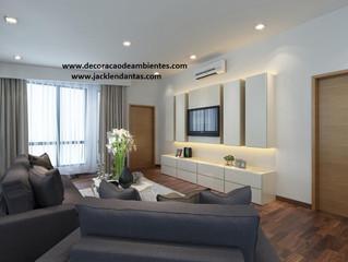 Dicas de como ampliar pequenos espaços em apartamentos ou casas. J Tagler Decoração de Interiores.