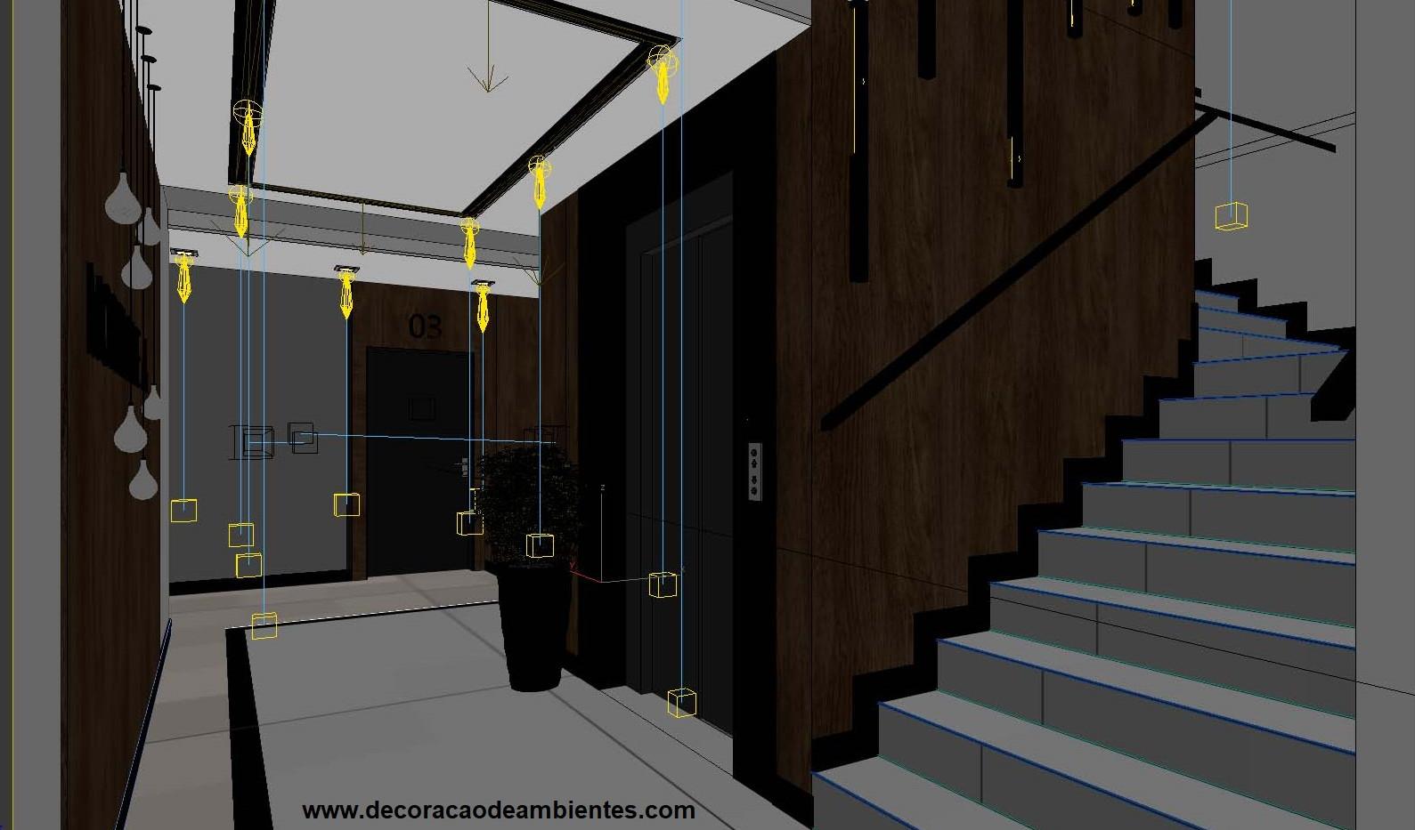 projeto Design decoracao de condominio residencial