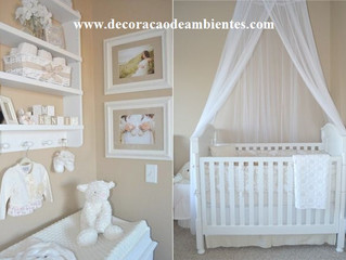 Projeto de decoração para quarto de bebê - J Tagler Design de Interiores RJ SP .