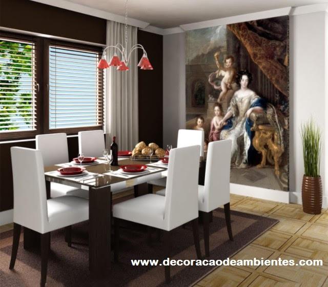 decoraçãoDecoração com elementos clássicos para sala pequena - Copacabana - Rio de Janeiro - RJ
