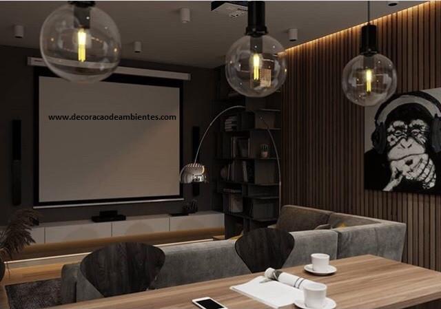 Projeto de decoração para sala de casal jovem