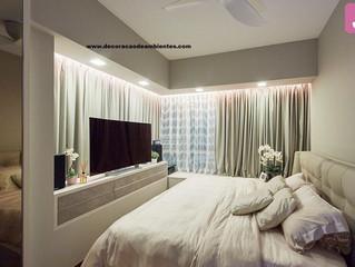 Precisando decorar o quarto de casal sem gastar muito?