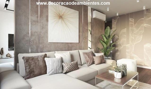 Projeto decoração de sala - Jardins - São Paulo SP