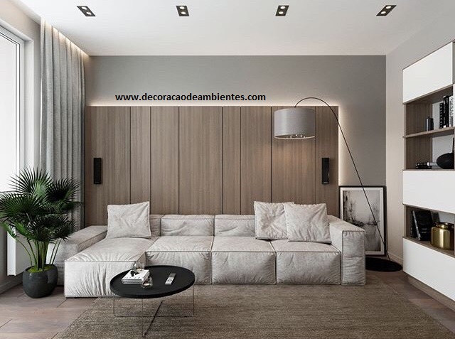 Projeto de decoracao de sala de estar